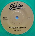 "45Re ✦LINK DAVIS✦""Trucker From Tennessee/Don't Big Shot Me"" Stunning Classic RAB♫ - 293701687782"